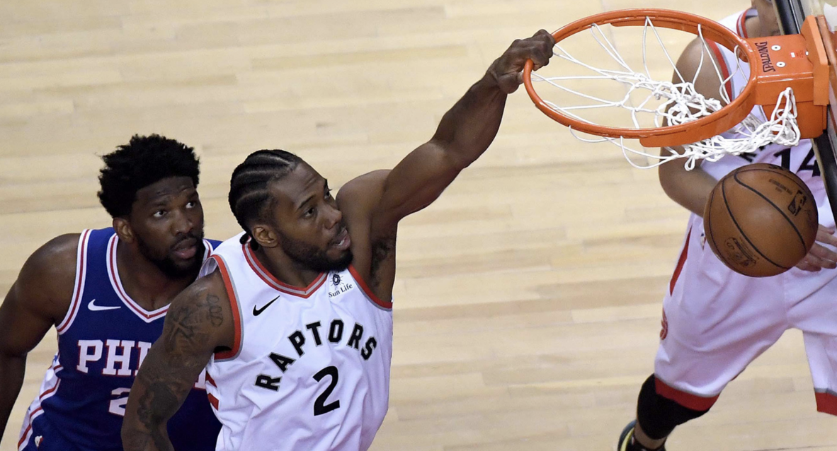 NBA Eastern Conference Semifinals: Raptors Chomp On Sixers (Game One)